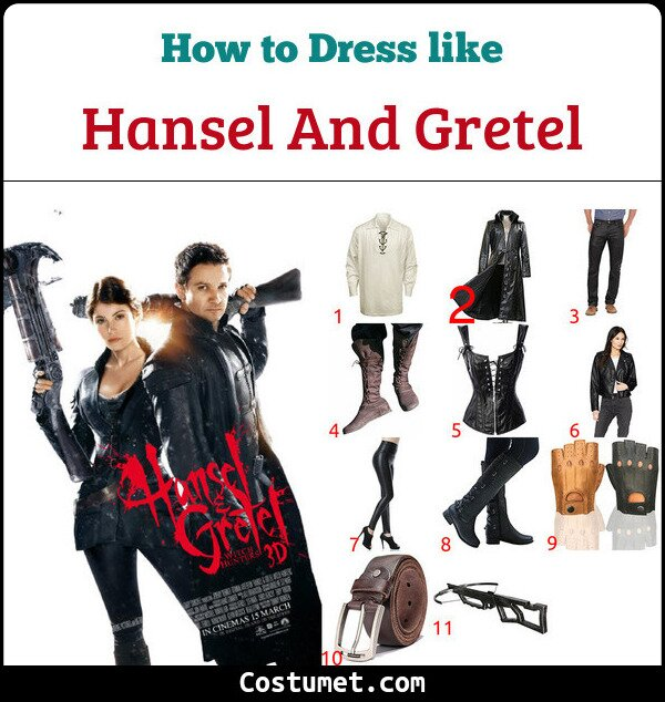 Hansel And Gretel Costume for Cosplay & Halloween