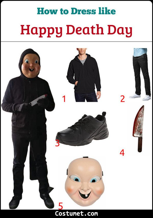 Happy Death Day Costume for Cosplay & Halloween