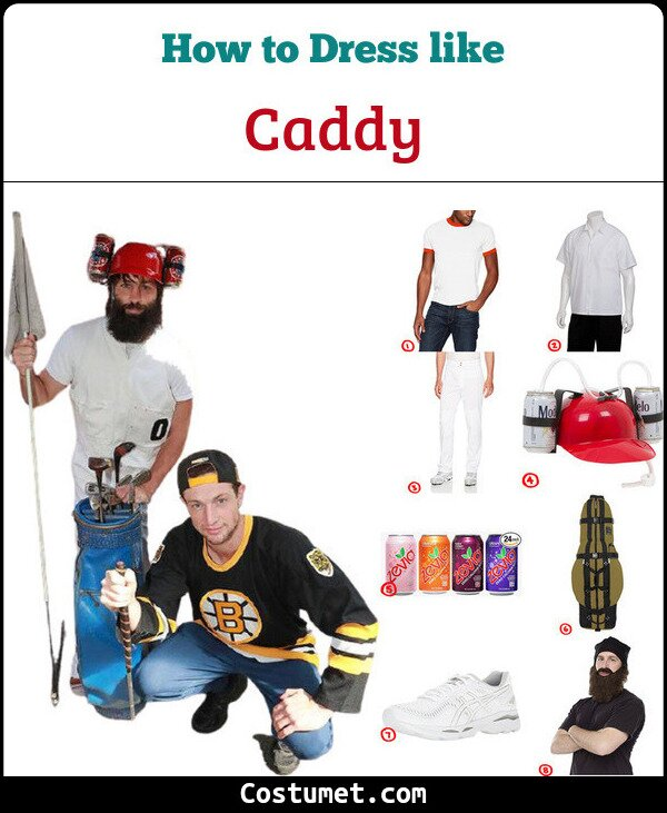 Happy Gilmore's caddy costume guide