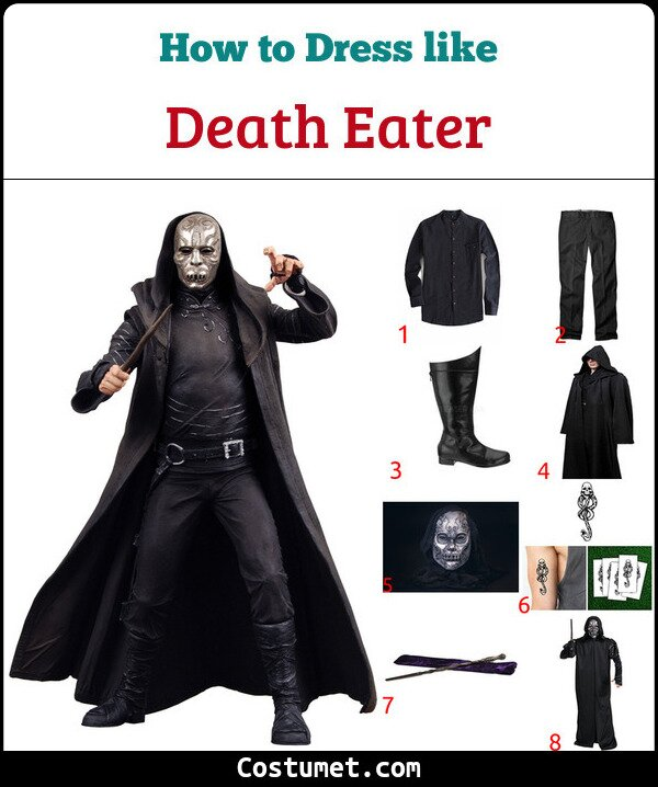 Death Eater Costume for Cosplay & Halloween
