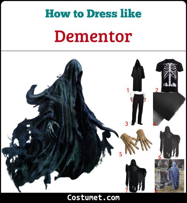 Dementor Costume for Cosplay & Halloween