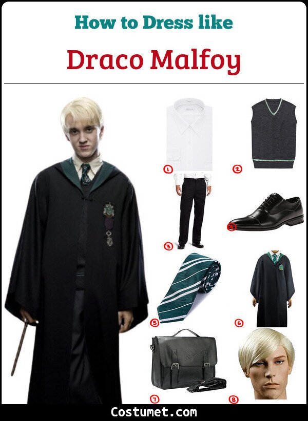 Draco Malfoy Cosplay & Costume Guide