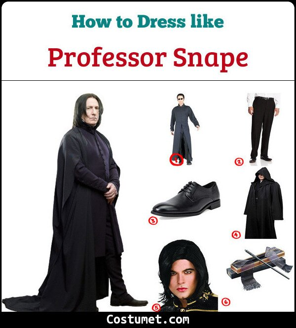 Professor Snape Cosplay & Costume Guide