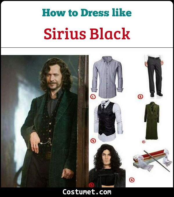 Sirius Black Cosplay & Costume Guide