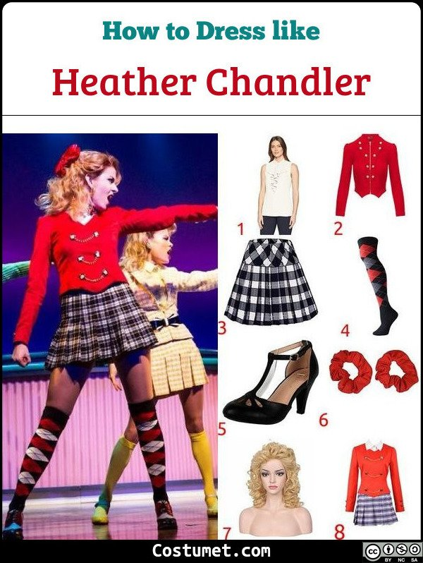 Heathers Costume for Cosplay & Halloween