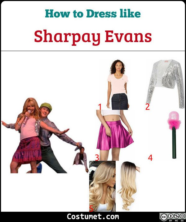 Sharpay Evans Costume for Cosplay & Halloween