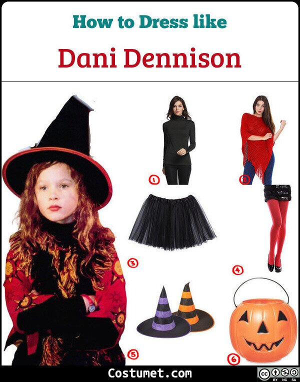 Dani Dennison Costume for Cosplay & Halloween