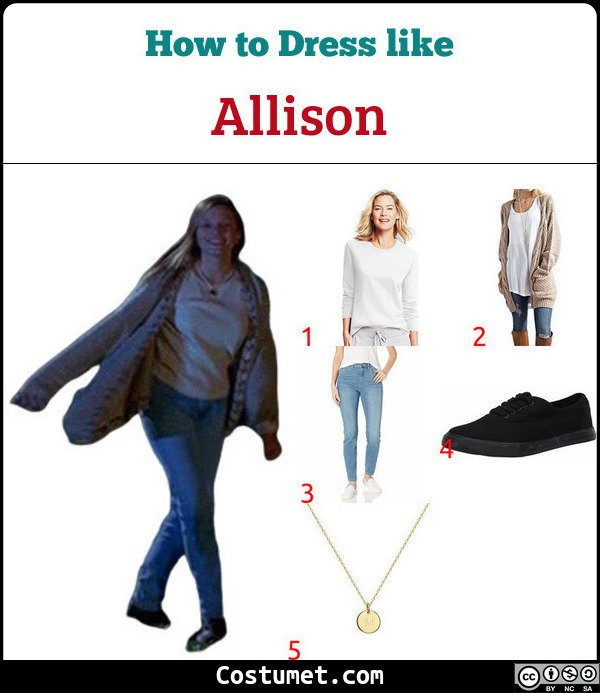 Allison Costume for Cosplay & Halloween
