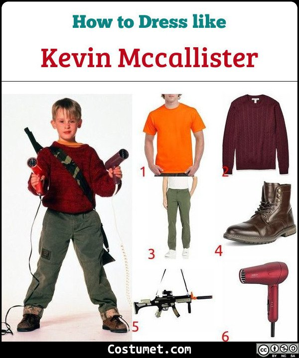 Kevin Mccallister Costume for Cosplay & Halloween
