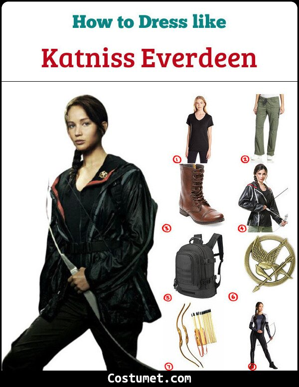 Katniss Everdeen Costume for Cosplay & Halloween