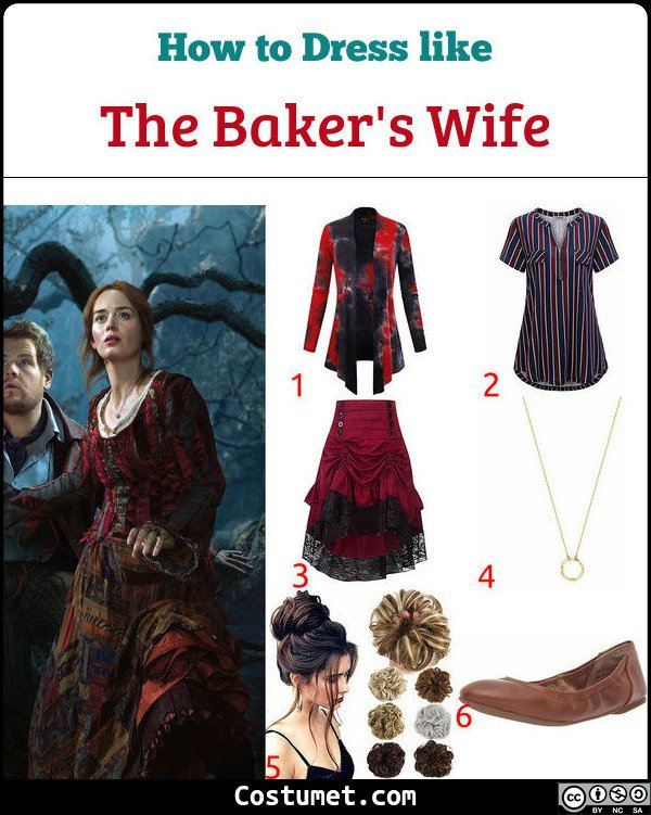 The Bakers wife from Into The Woods Costume for Cosplay & Halloween