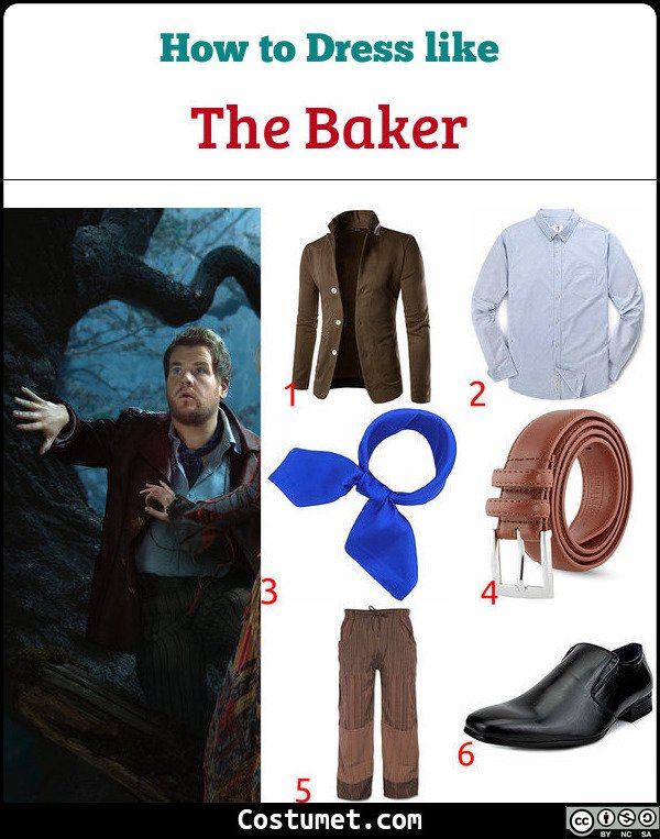The Baker from Into The Woods Costume for Cosplay & Halloween