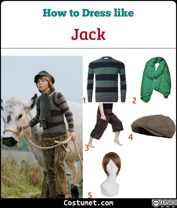 Jack Costume for Cosplay & Halloween
