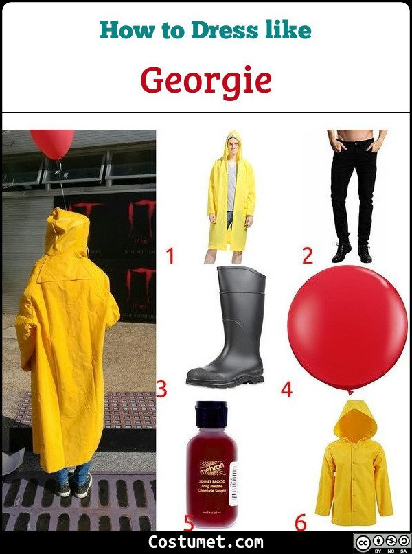 Georgie Costume for Cosplay & Halloween