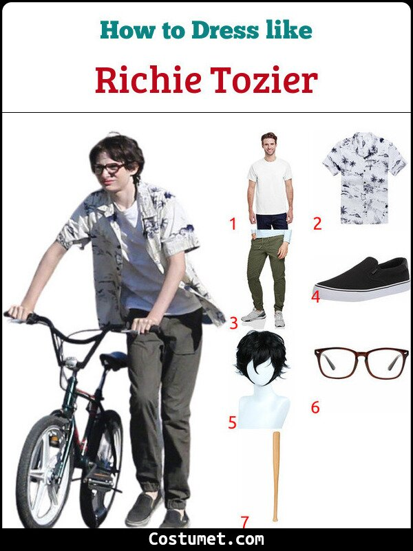 Richie Tozier Costume for Cosplay & Halloween
