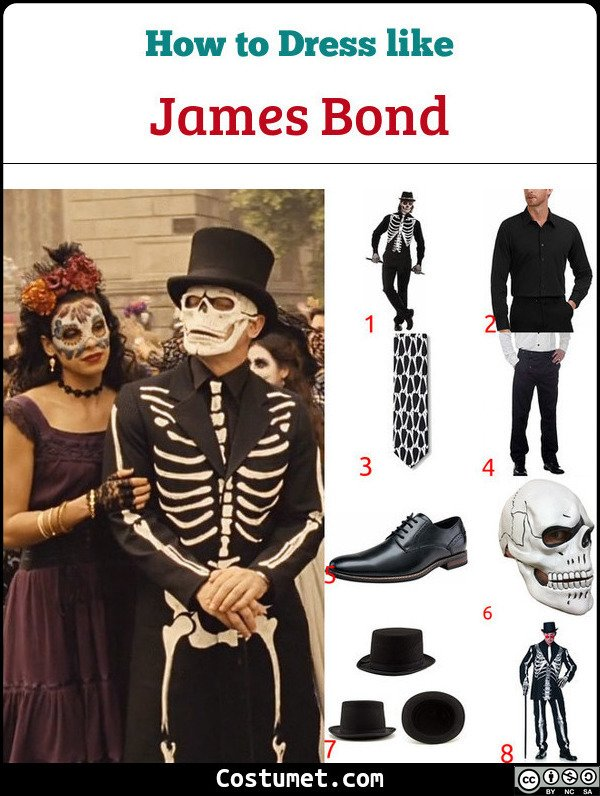 James Bond Costume for Cosplay & Halloween