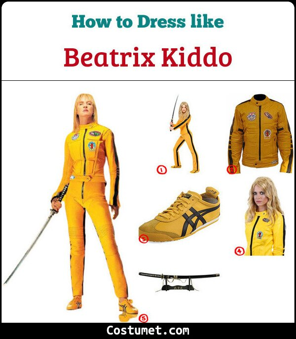 Kill Bill Costume for Cosplay & Halloween