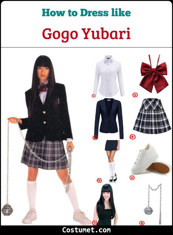 Gogo Yubari Cosplay & Costume Guide