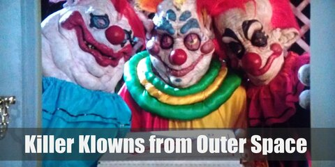 Killer Klowns from Outer Space Costume
