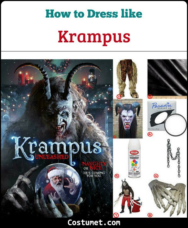 Krampus Costume for Cosplay & Halloween