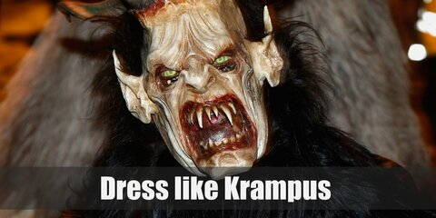 The Krampus Costume