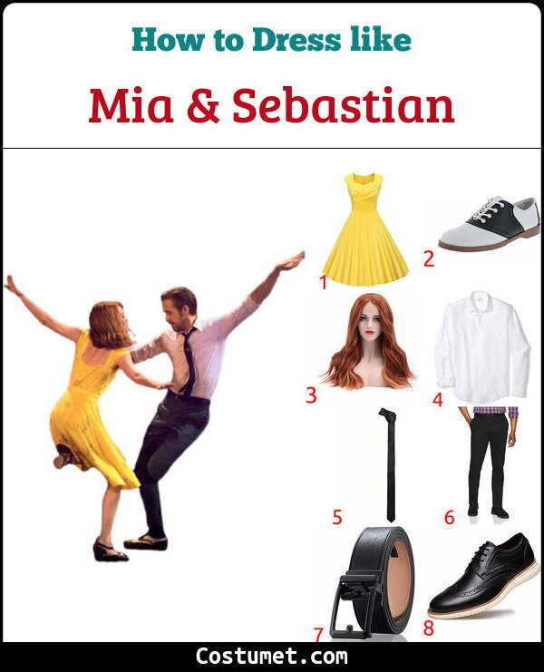 La La Land Costume for Cosplay & Halloween
