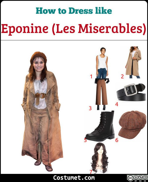 Eponine Costume for Cosplay & Halloween