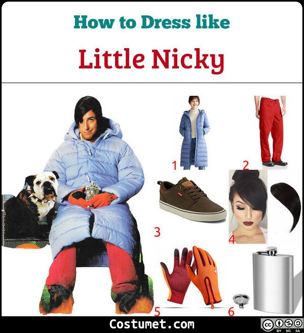 Little Nicky Costume for Cosplay & Halloween