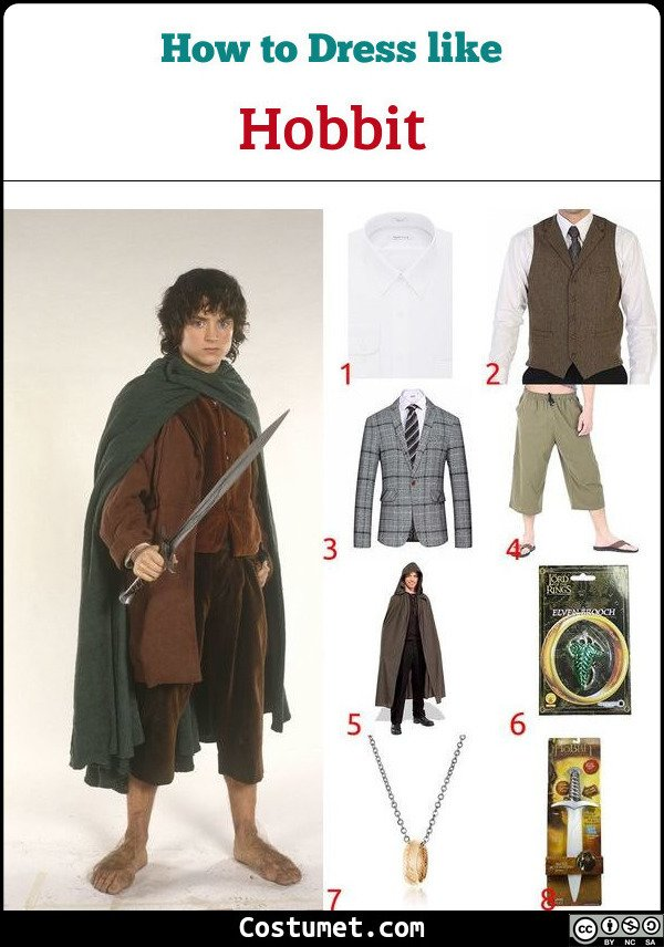 Hobbit Costume for Cosplay & Halloween