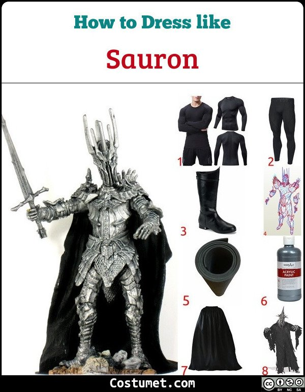 Sauron Costume for Cosplay & Halloween