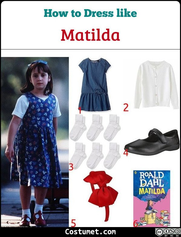 Matilda Costume for Cosplay & Halloween