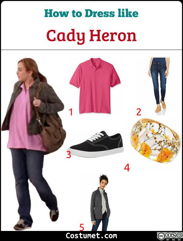 Cady Heron Costume for Cosplay & Halloween