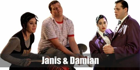 Janis Ian & Damian (Mean Girls) Costume