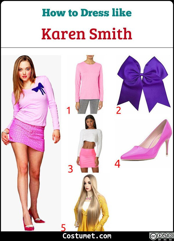 Karen Smith Costume for Cosplay & Halloween