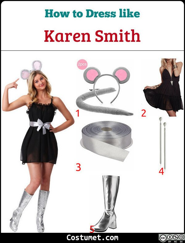 Karen Smith Mouse Costume for Cosplay & Halloween