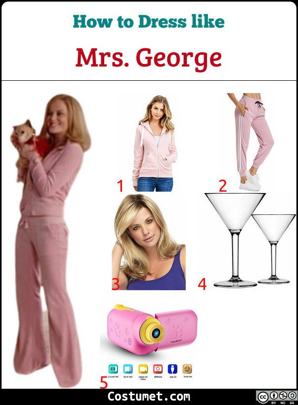 Mrs. George Costume for Cosplay & Halloween