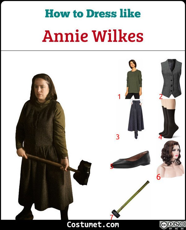 Annie Wilkes Costume for Cosplay & Halloween