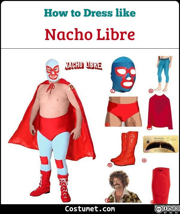 Nacho Libre Costume for Cosplay & Halloween