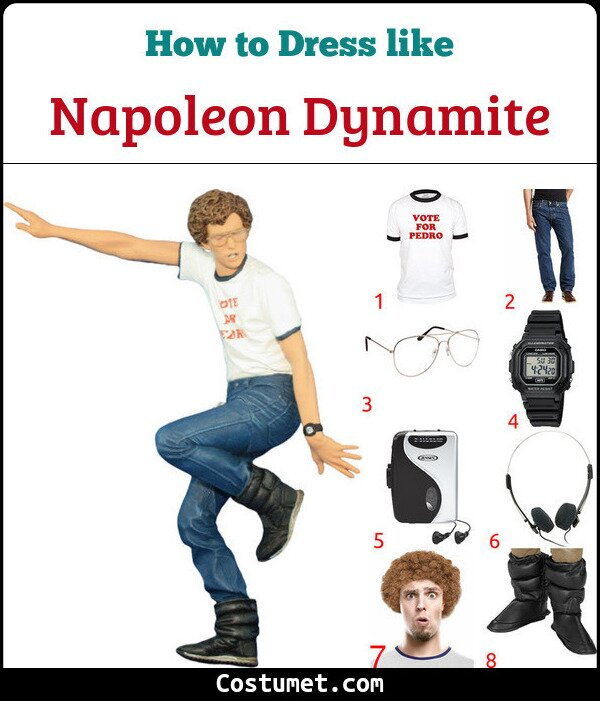 Napoleon Dynamite Costume for Cosplay & Halloween