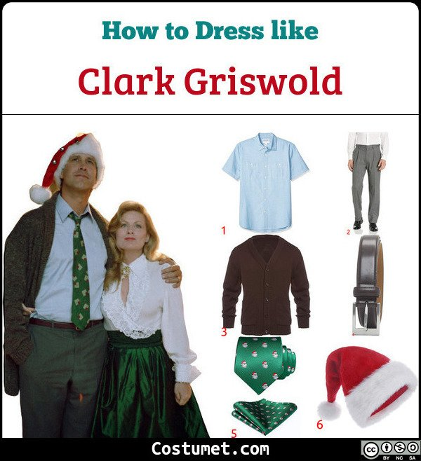 Clark Griswold Costume for Cosplay & Halloween