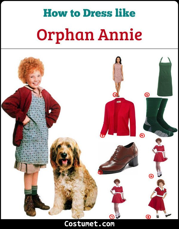 Orphan Annie Cosplay & Costume Guide