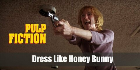 Dress like Honey Bunny from Pulp Fiction Costume