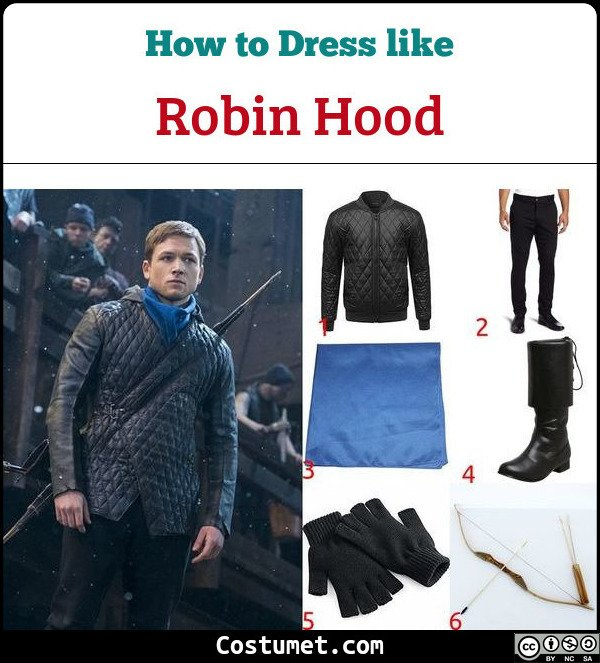 Robin Hood Costume for Cosplay & Halloween