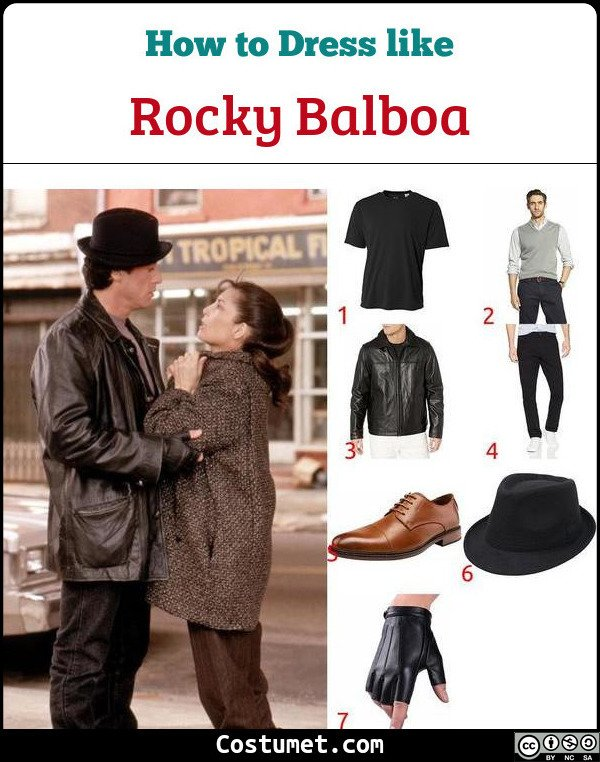 Rocky Balboa Costume for Cosplay & Halloween
