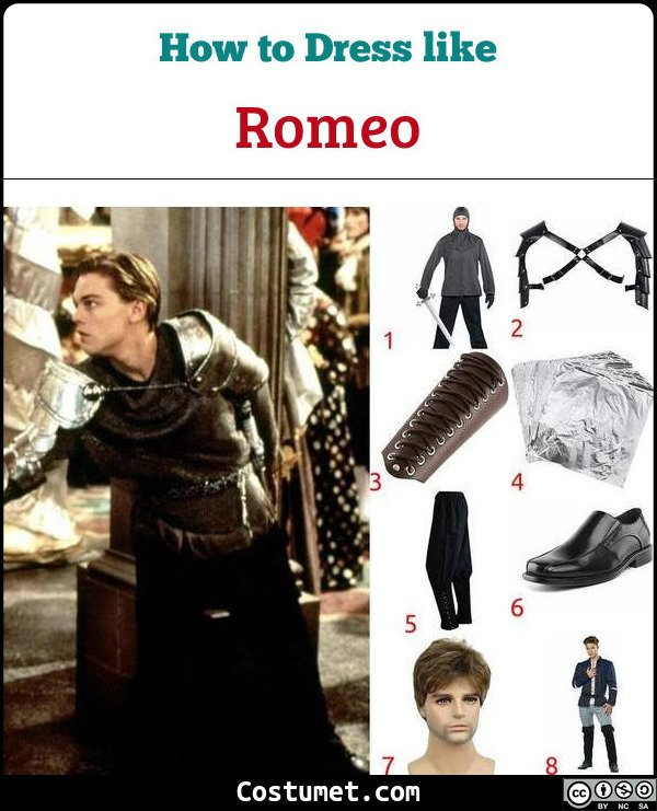 Romeo And Juliet Costume for Cosplay & Halloween