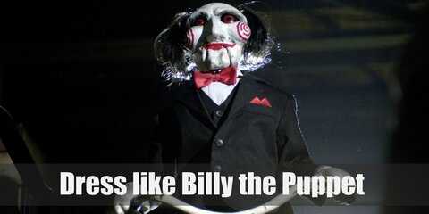Dress like Billy the Puppet (Saw) Costume