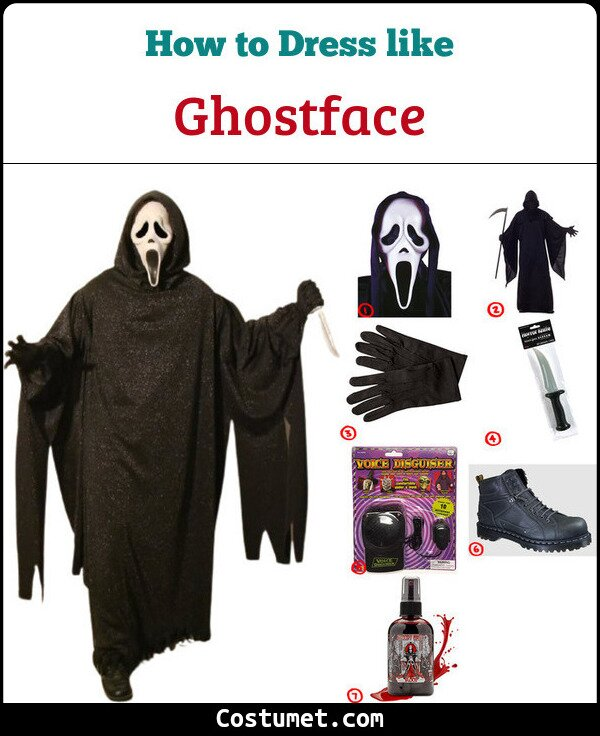 Ghostface Cosplay & Costume Guide