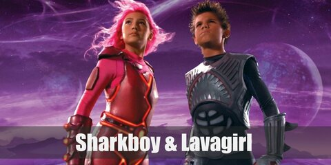 Dress Like SharkBoy & LavaGirl Costume
