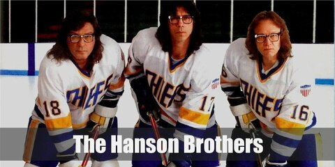 Hanson Brothers (Slap Shot) Costume