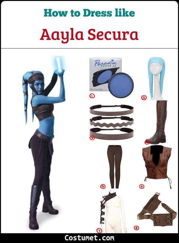 Aayla secura cosplay & Costume Guide